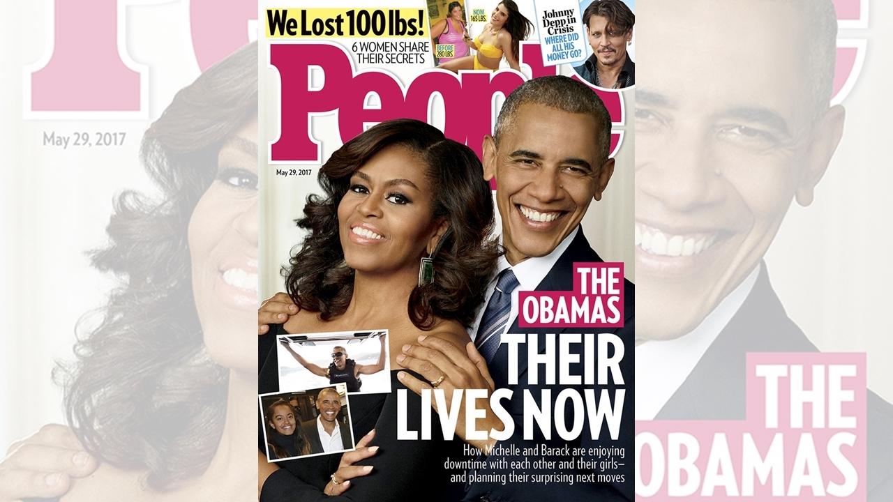 People dedica su portada a la nueva vida de los Obama