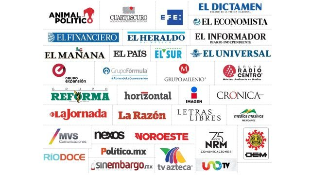 Medios nacionales e internacionales exigen cesen las agresiones a periodistas