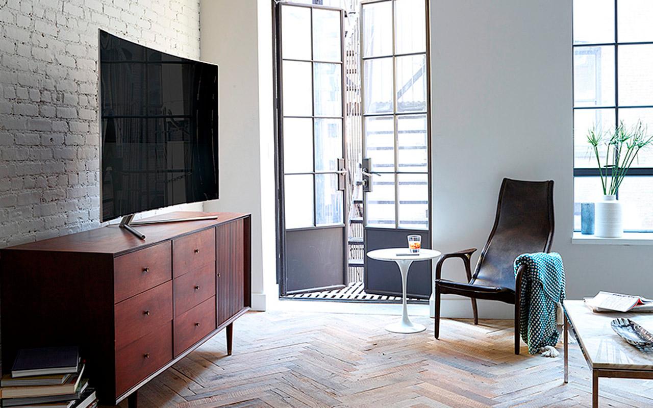 Un vistazo a la QLED TV, la nueva pantalla curva de Samsung