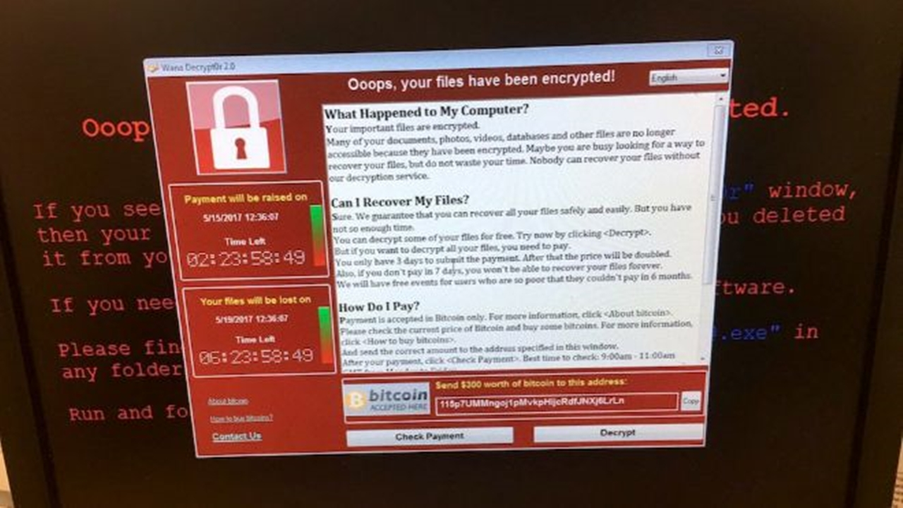 CFE tampoco registra daños por WannaCry