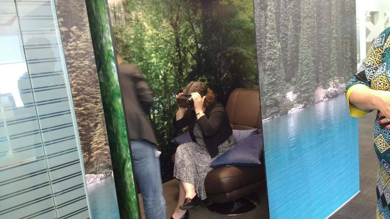 La realidad virtual para relajar empresas