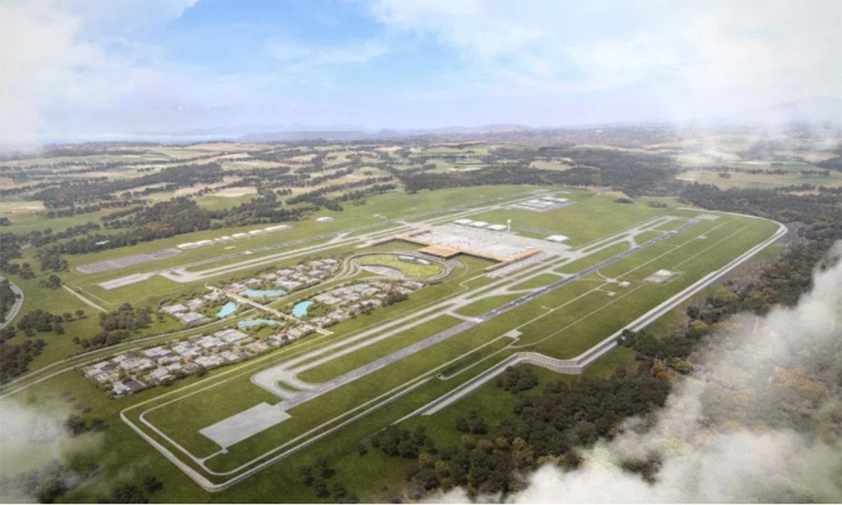 Aeropuerto no se concesionó por rentabilidad, señala Presidencia