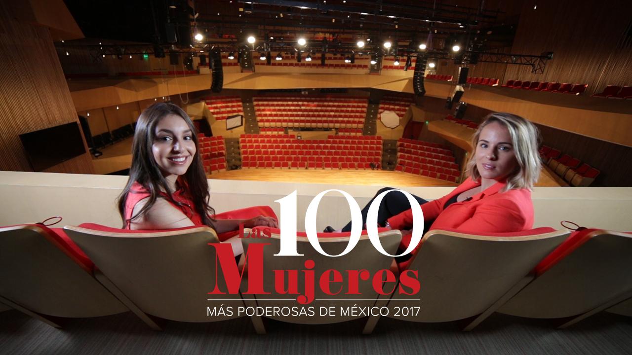 Mujeres Poderosas 2017 Daniela Liebman y Saskia Niño de Rivera