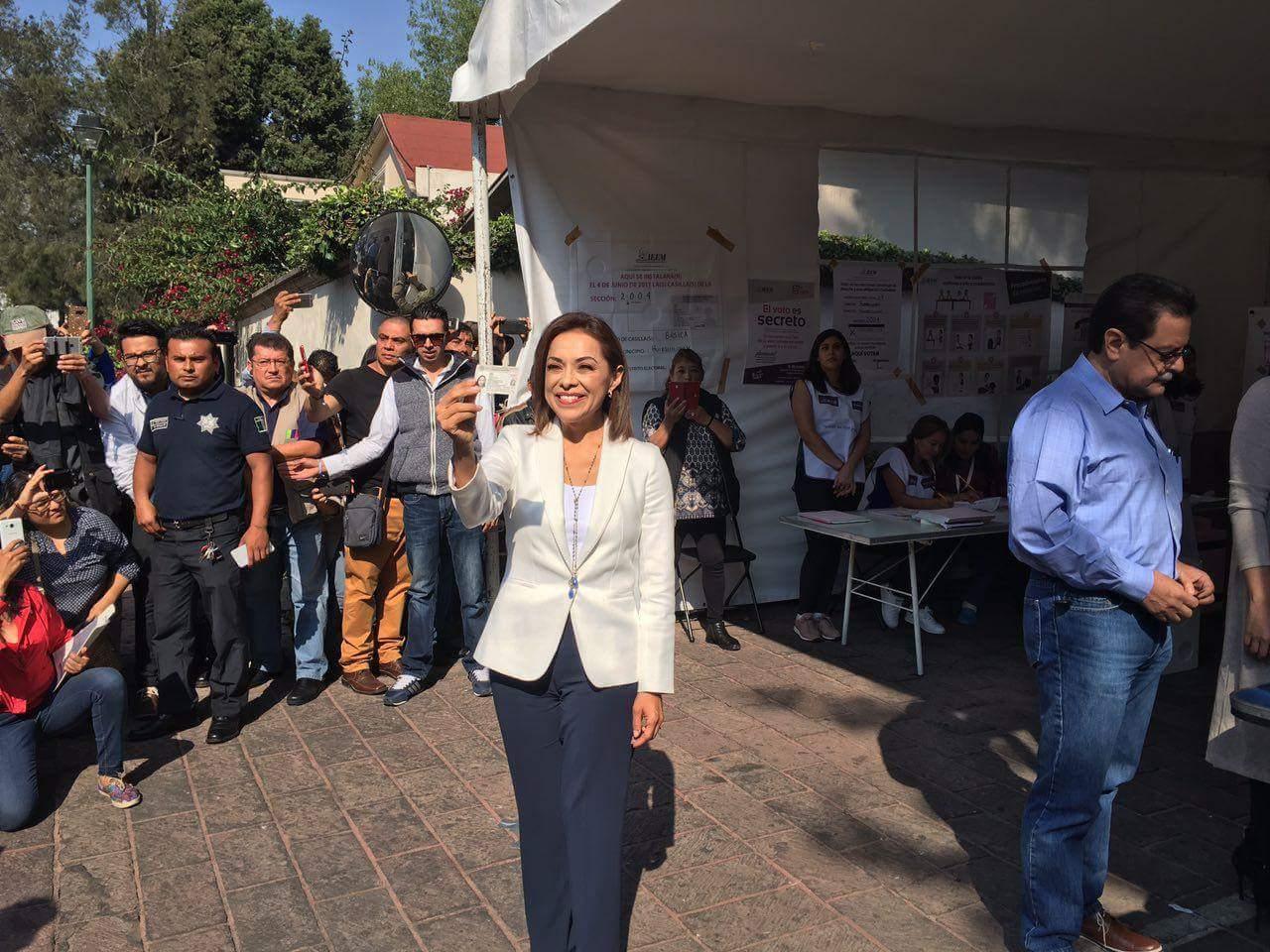 Josefina Vázquez Mota reconoce su derrota en el Edomex