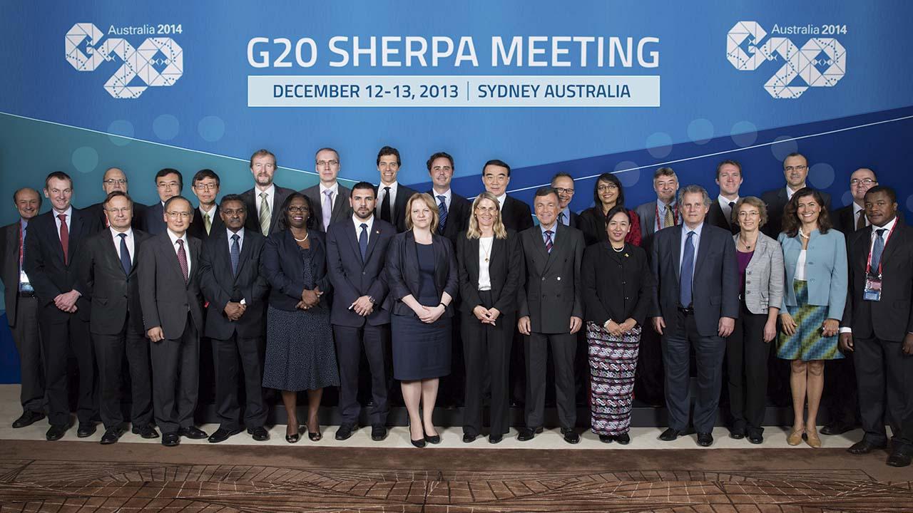 G-20 reafirma su compromiso de combatir el proteccionismo