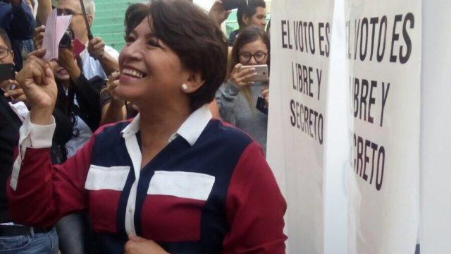 PREP da ventaja a Del Mazo en el Estado de México