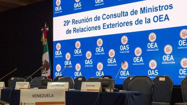 Termina sin consenso reunión en la OEA sobre Venezuela