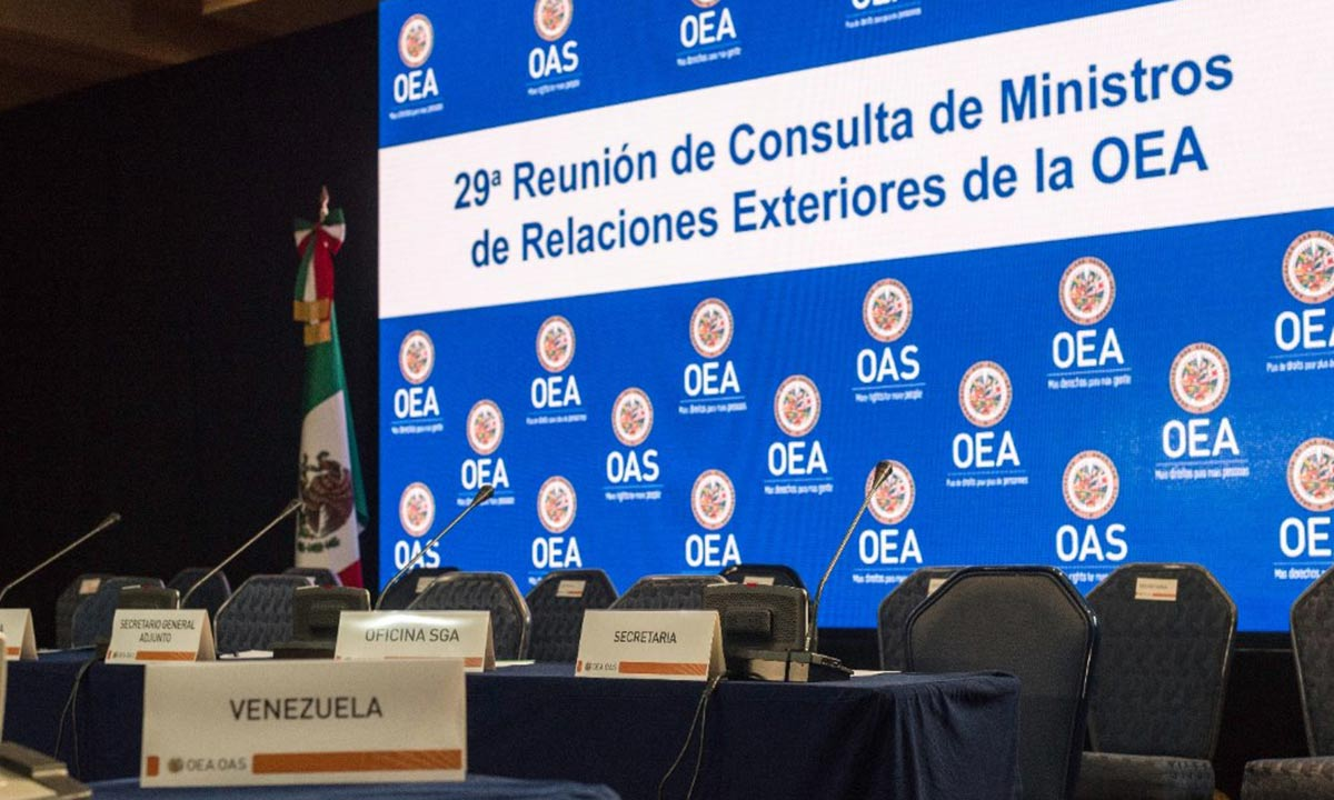 Venezuela desconocerá resultados sobre reunión de la OEA