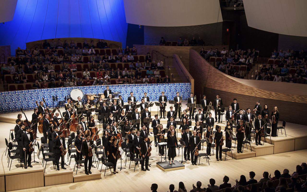 Esta orquesta de estudiantes tiene iniciativa de unión