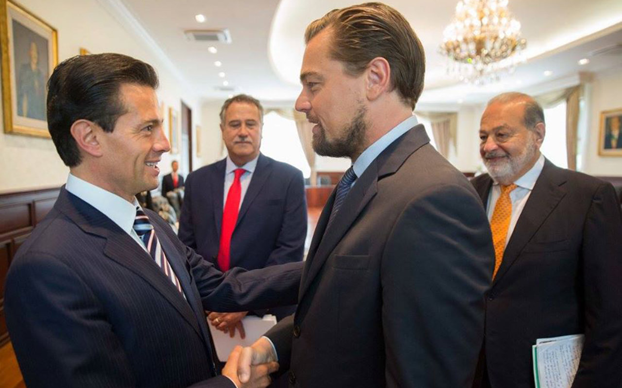 Slim se une a DiCaprio y Peña Nieto para salvar a la vaquita marina