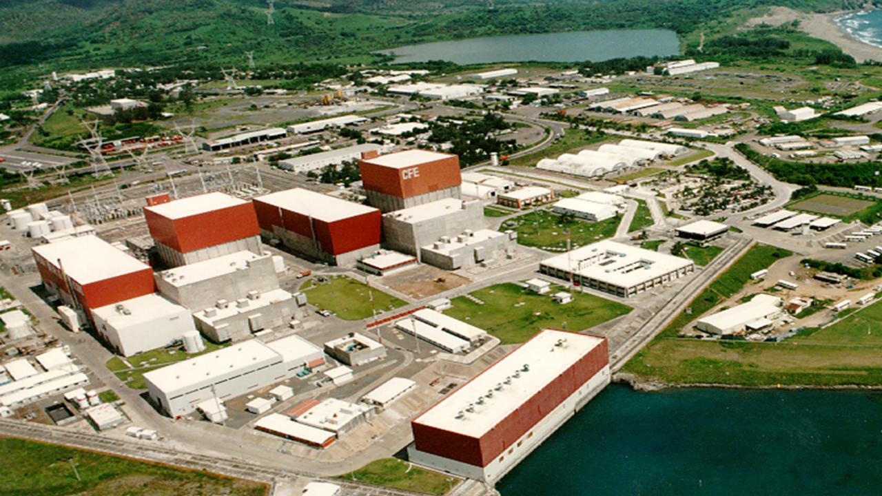 Sener renueva licencia de reactor nuclear de CFE por 30 años