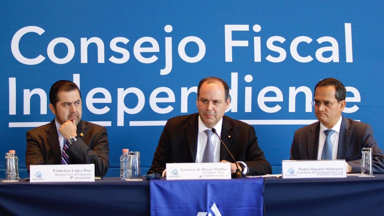 Coparmex insiste en crear un consejo fiscal ciudadano