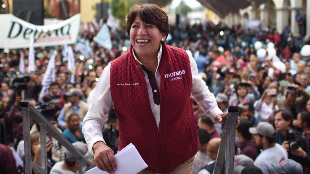 Sancionan a Morena con 4.5 mdp por retener 'diezmos' para campaña de Delfina Gómez