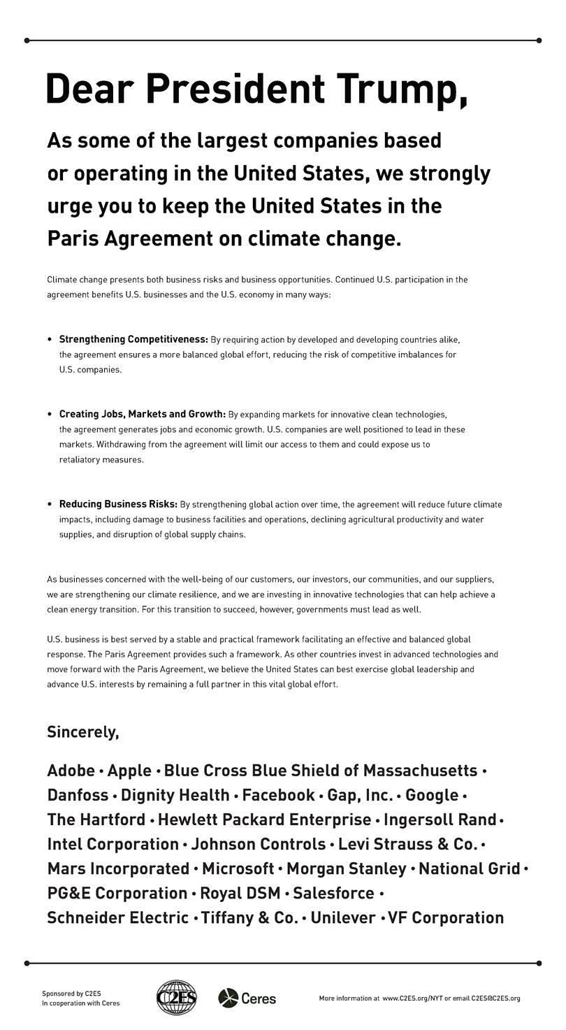Desplegado Acuerdo de París