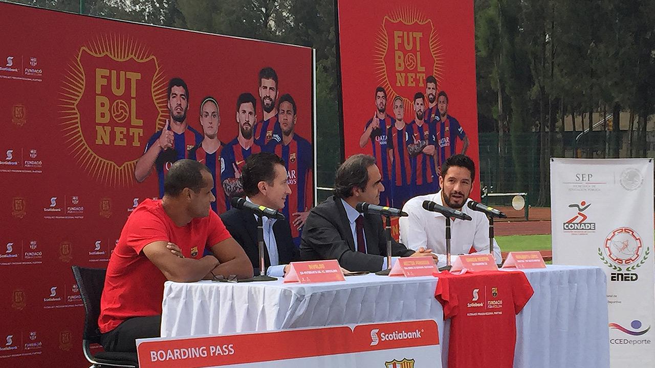 Scotiabank y el Barça lanzan FutbolNet para ayudar a jóvenes mexicanos