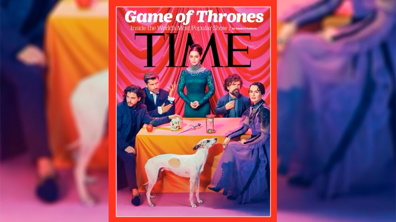 Game of Thrones se apodera de la portada de Time