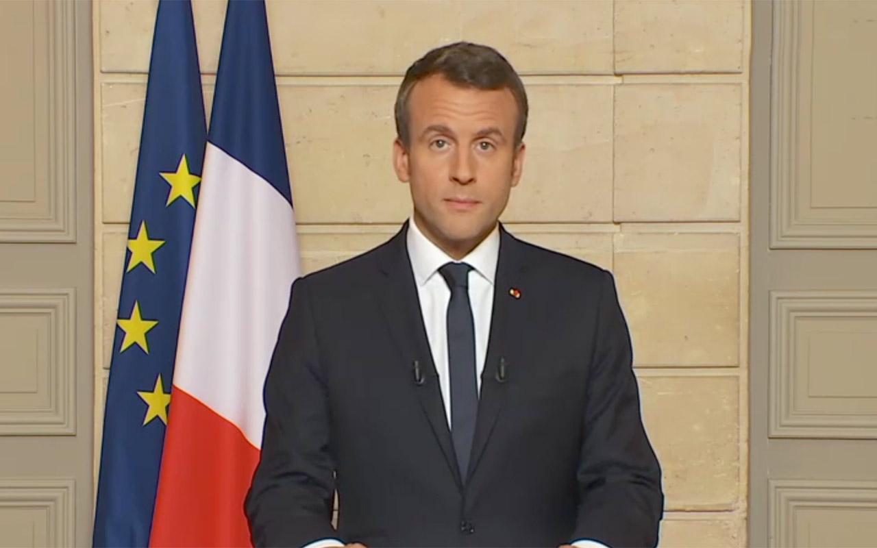 Macron elimina aumento de impuestos a combustibles tras protestas