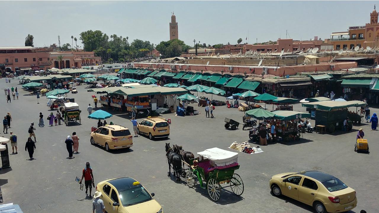 Marrakech: postales sonoras en la tierra de Dios