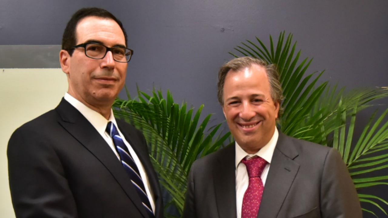 Meade invita a secretario del Tesoro de EU a México