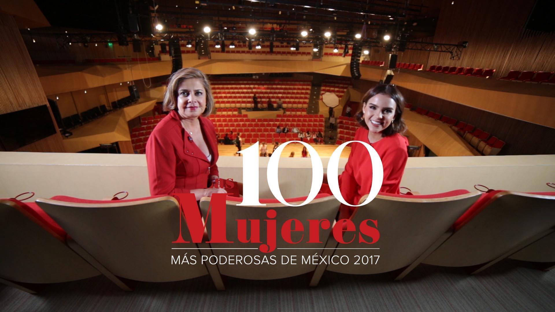 Mujeres Poderosas Forbes 2017. Mónica Flores y Yuya