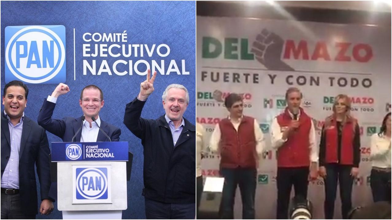 Partidos y candidatos cantan victoria tras cierre de urnas