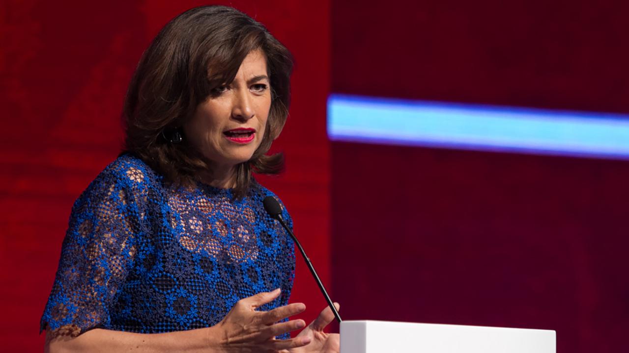 Gabriela Ramos recibe el premio a la Excelencia Empresarial Forbes 2017