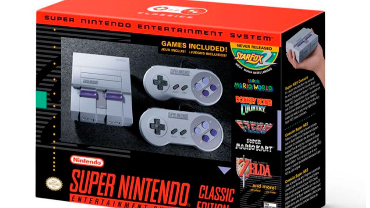 Nintendo lanzará Super NES Mini Classic el 29 de septiembre