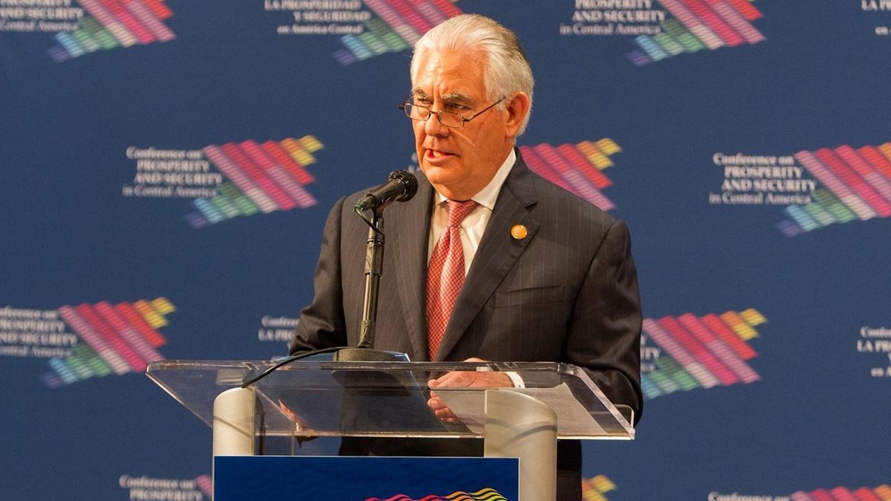 Tillerson viajará a México para asamblea de la OEA