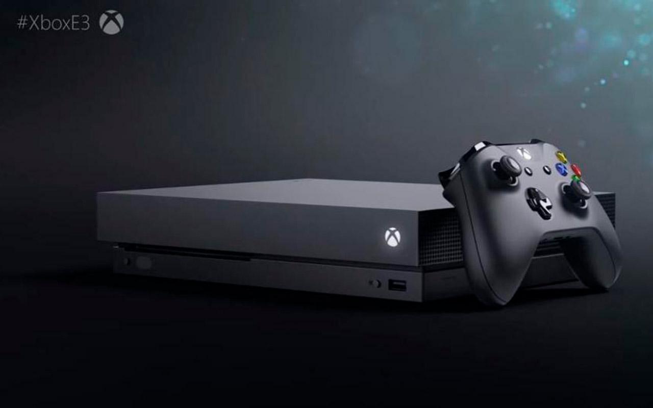Microsoft presenta el Xbox One X, su PS4 Pro killer