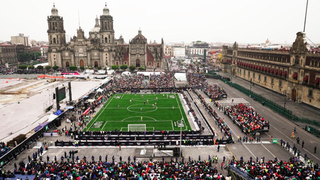 Las Revanchas: un encuentro deportivo entre México y Alemania