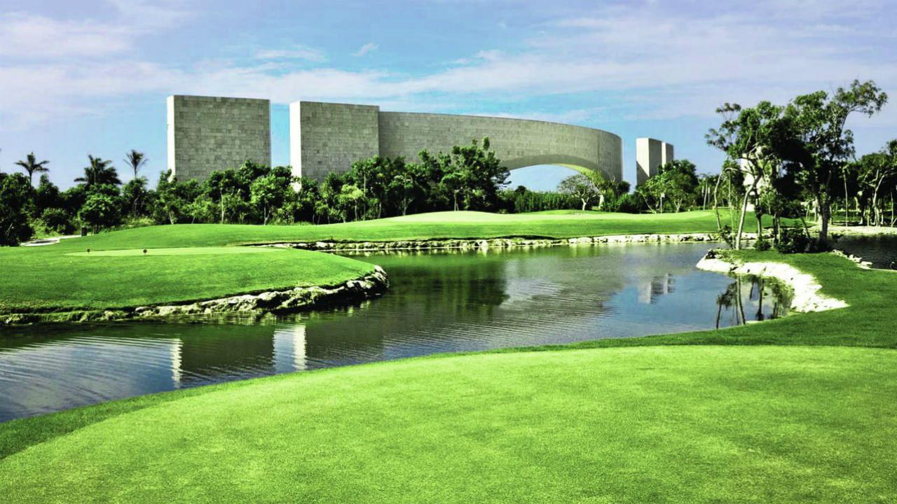 Ubicación de los terrenos de golf