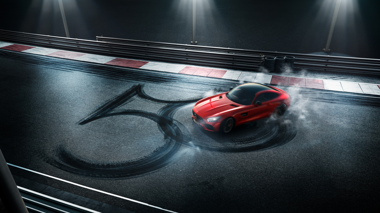 La sociedad Mercedes-AMG cumple medio siglo de supremacía automotriz