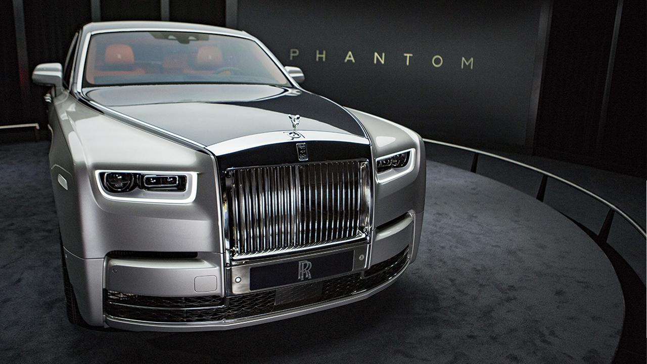Así luce la octava y nueva generación de los Phantom de Rolls-Royce