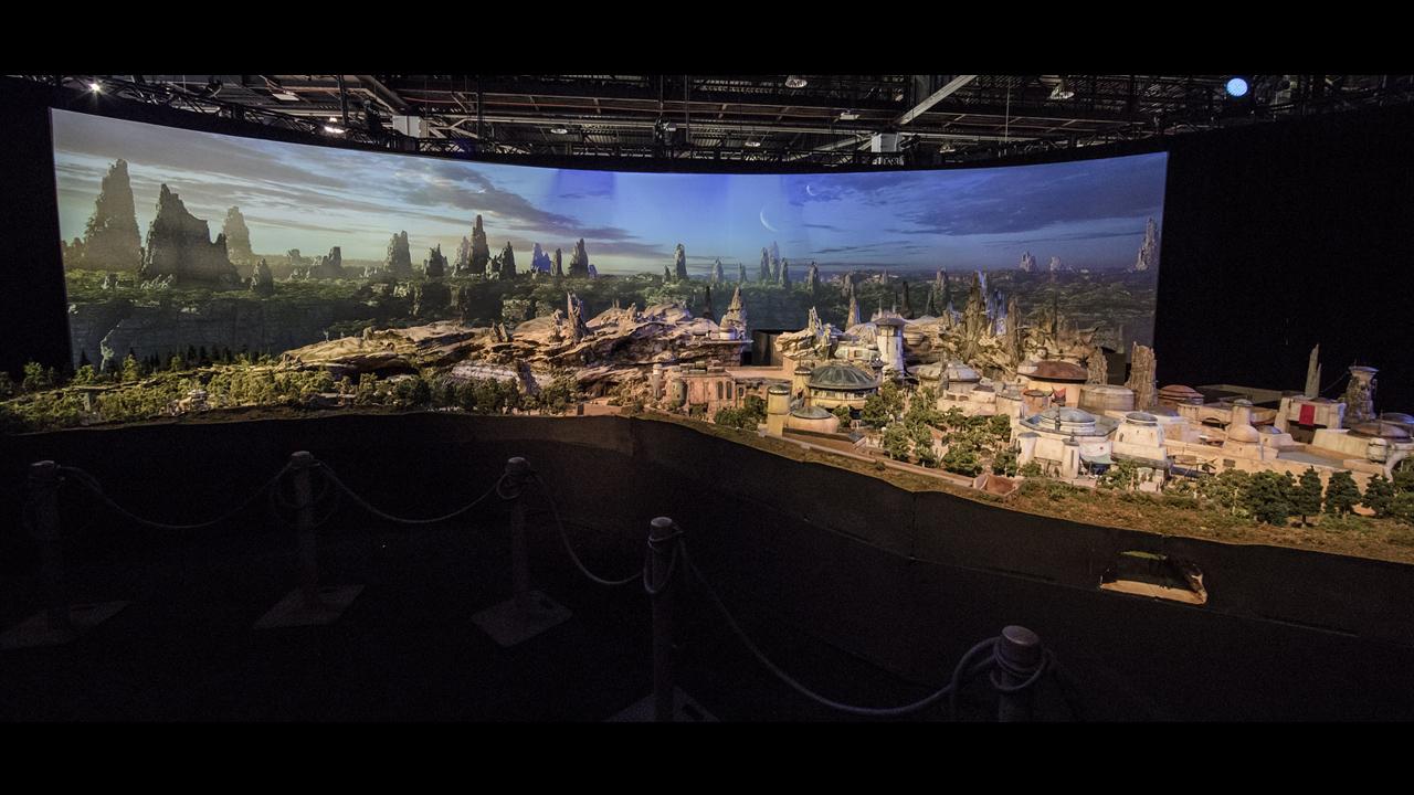 Así es como lucirá el mundo de Star Wars en Disneyland