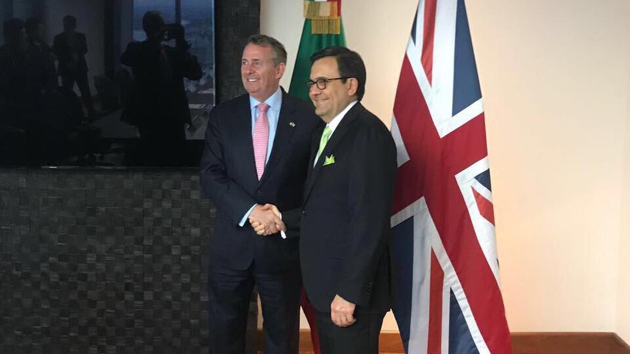 México y Reino Unido buscan acuerdo comercial pos-Brexit
