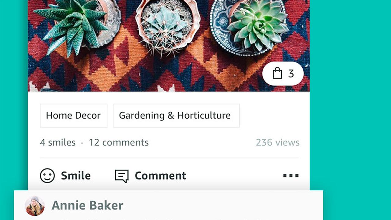 Spark, la red social de Amazon para presumir lo que compras