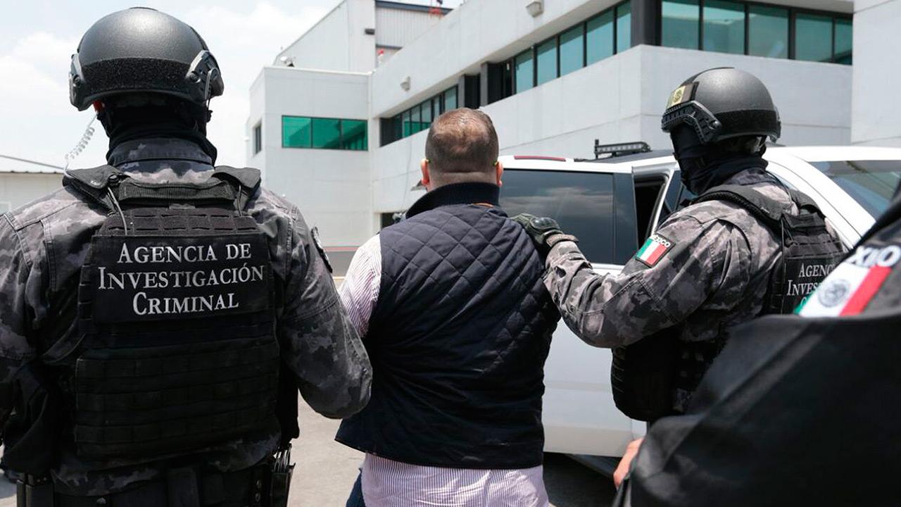 Javier Duarte ingresa a Reclusorio Norte