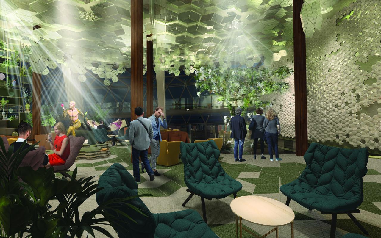 Eden será el restaurante con el ventanal más grande en un barco
