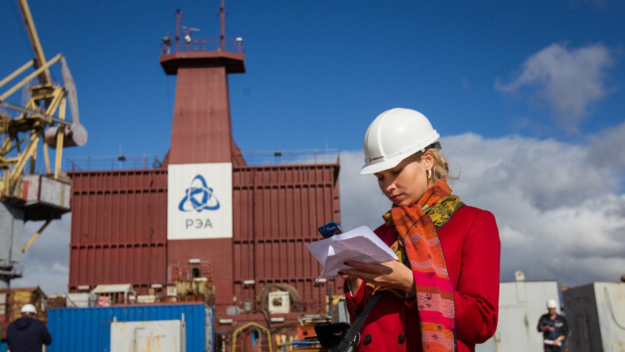 A Brasil le interesan las centrales nucleares flotantes de Rusia