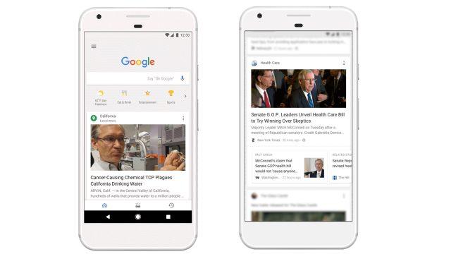 Google lanza un nuevo buscador que compite con Facebook