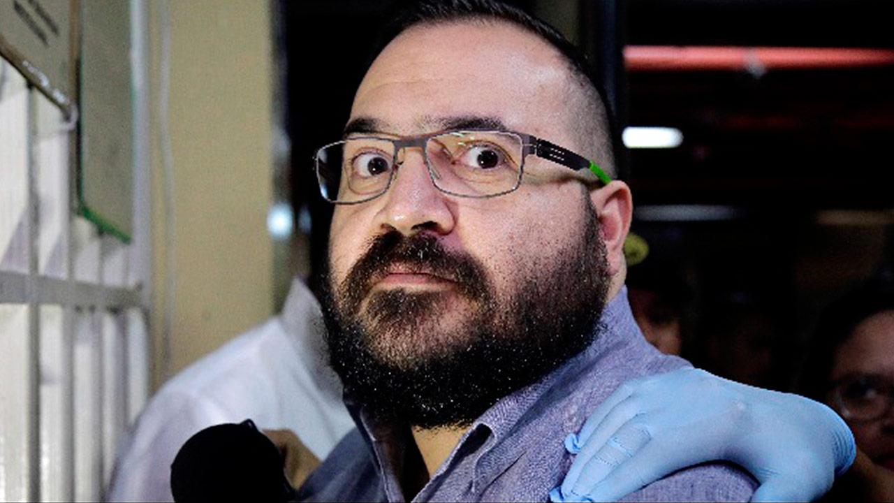 Aplazan audiencia de Javier Duarte