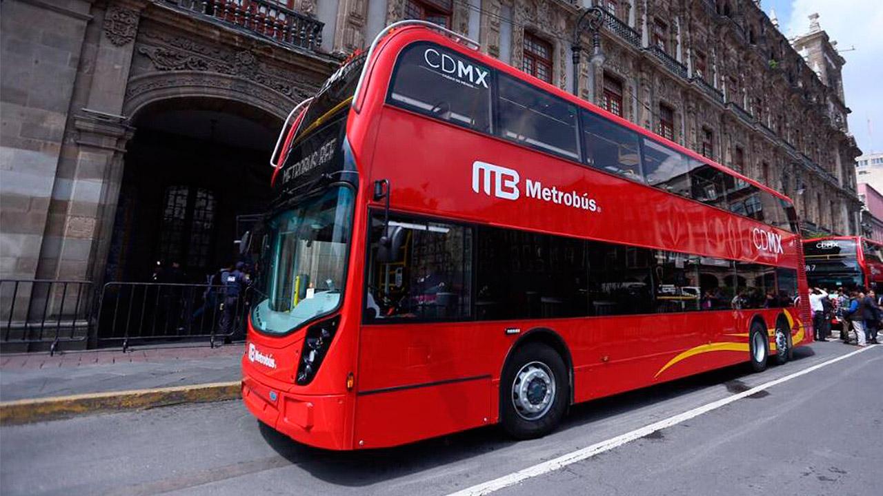 Así son los autobuses que circularán en la Línea 7 del Metrobús