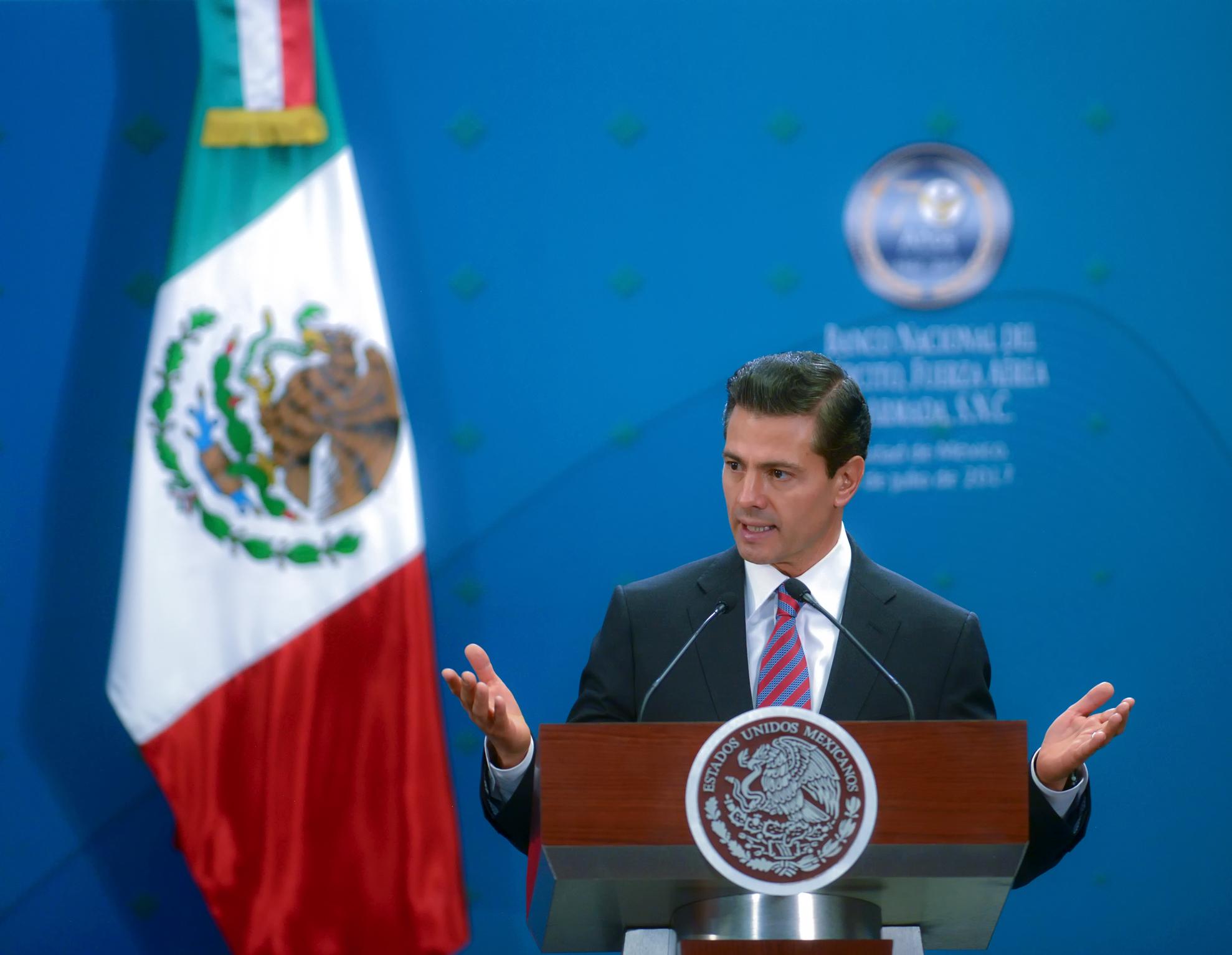 Repatriación de capitales se extiende hasta octubre: Peña Nieto