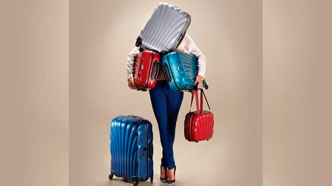 Samsonite quiere que más mexicanos usen sus maletas