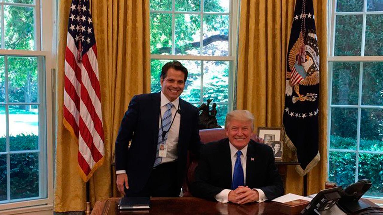 Scaramucci, el jefe de Comunicaciones que adora a Trump