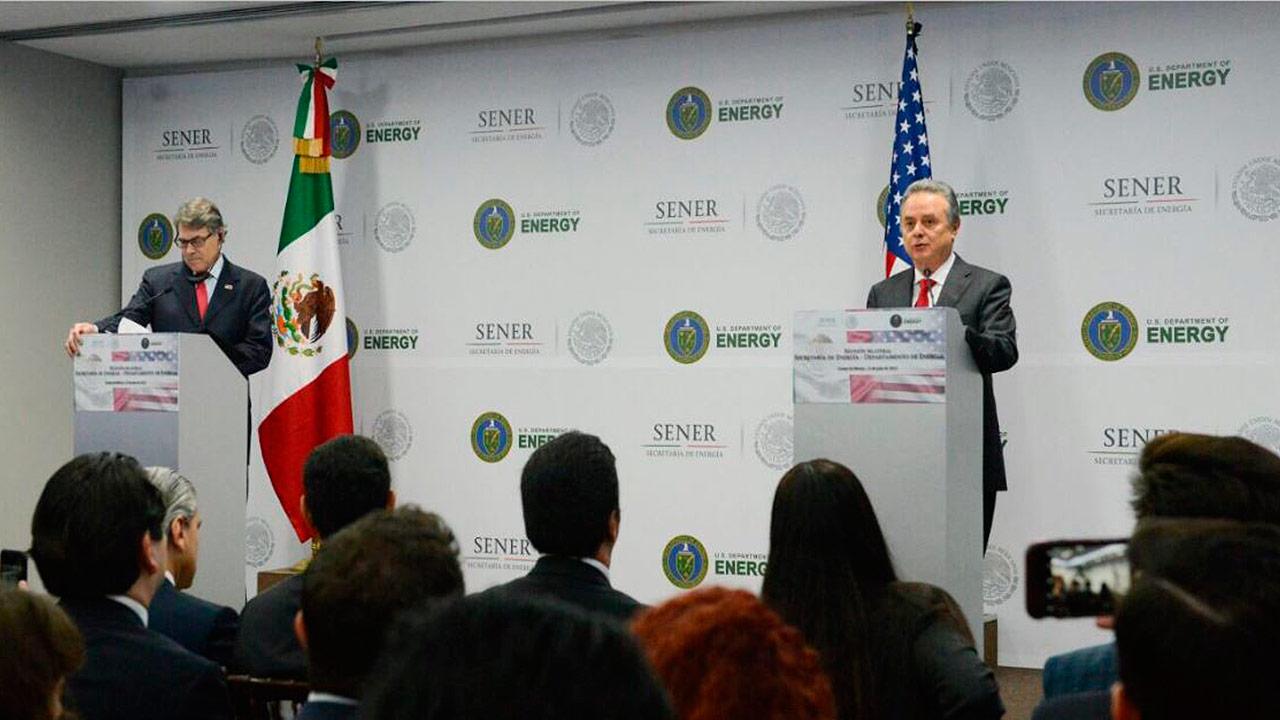 México y EU ampliarán infraestructura energética transfronteriza