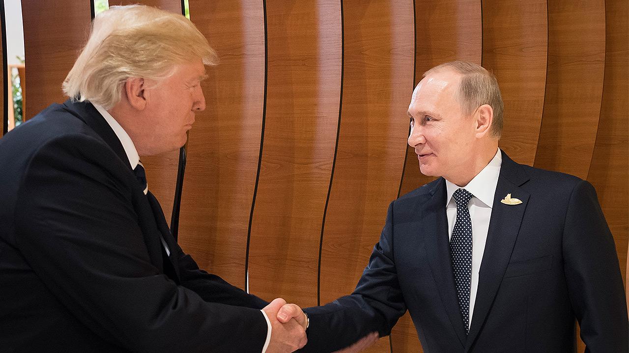 Llevarse bien con Rusia es 'algo bueno, no malo': Trump