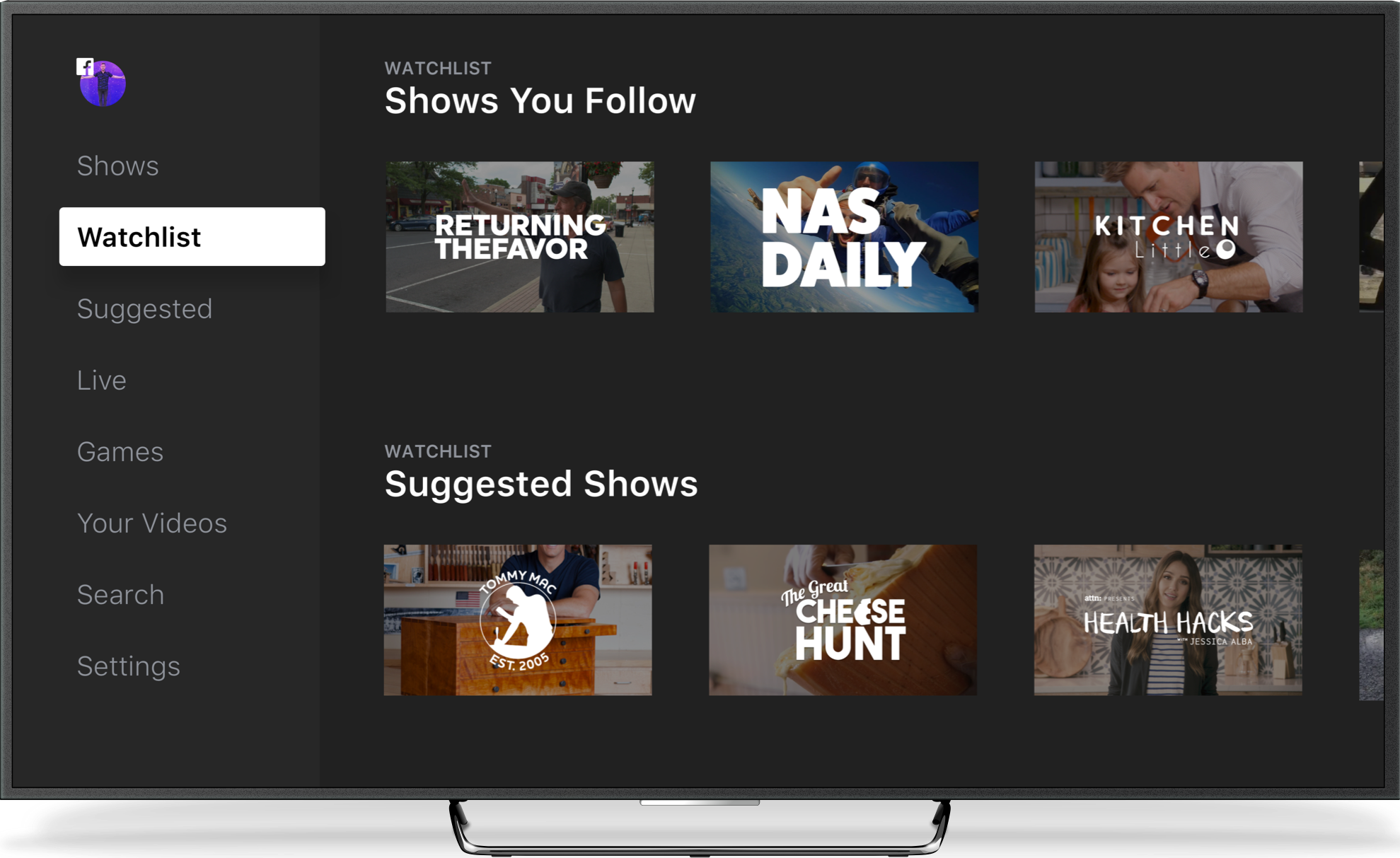 Facebook Watch es una nueva plataforma para ver series por streaming