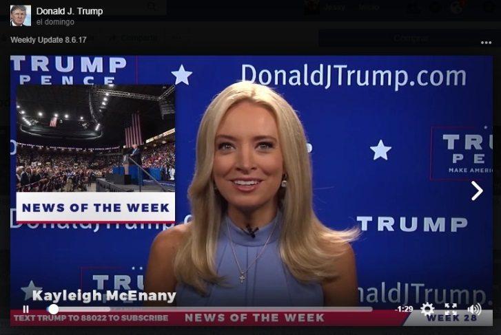 Donald Trump ya tiene sus propias 'noticias reales'