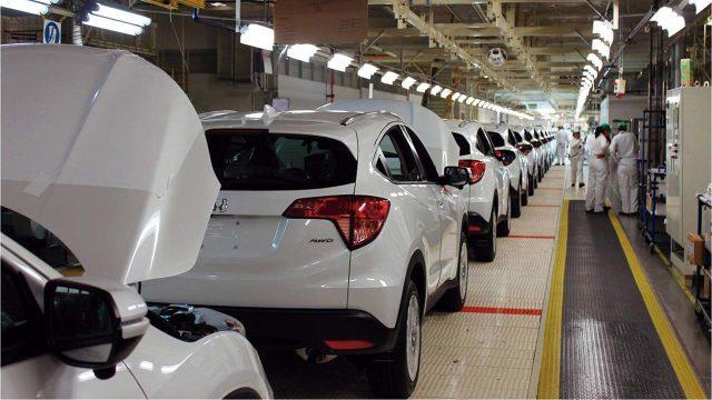 honda producción automotriz